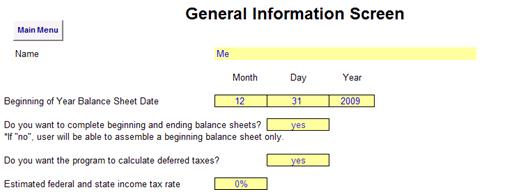 dating balance sheet