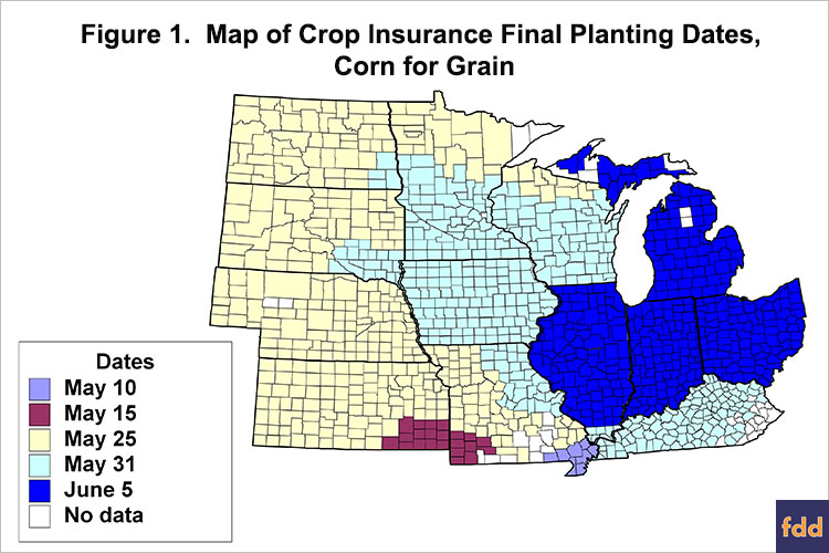 Prevented Planting Decisions Four Points To Ponder After Weekend - Us-corn-belt-map