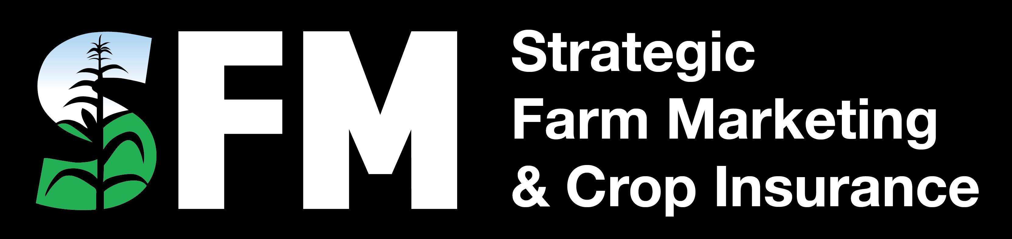 SFM logo white on black