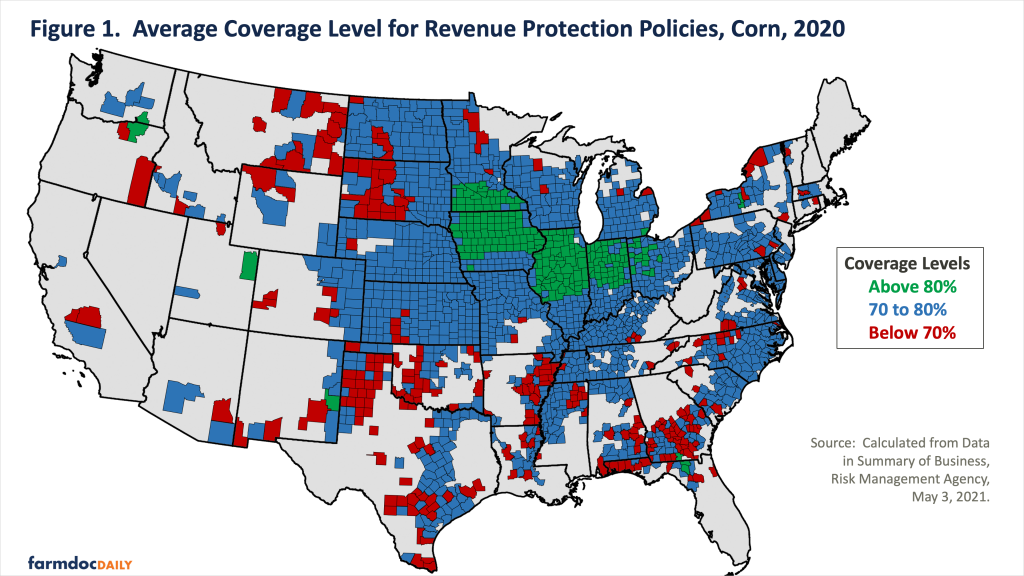 Crop Insurance Coverage Levels and ECO Use on Corn • farmdoc daily